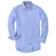 Backpacker BP7011T Woven Shirts  - Men's Tall Yarn-Dyed Micro-Check Woven