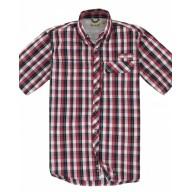 Backpacker BP7015 Woven Shirts  - Men's Sport Utility Short-Sleeve Plaid Shirt