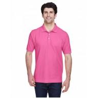 Devon & Jones D100 Polo Shirts - Men's Pima Piqué Short-Sleeve Polo