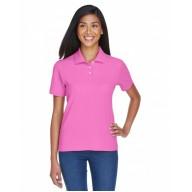 Devon & Jones D112W Polo Shirts - Ladies' Pima Piqué Short-Sleeve Polo