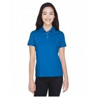 Devon & Jones D140SW Polo Shirts - Ladies' Solid Perfect Pima Interlock Polo