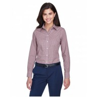 Devon & Jones D640W Dress Shirts - Ladies' Crown Woven Collection™ Gingham Check