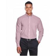 Devon & Jones D645 Shirts - Men's Crown Woven Collection™ Banker Stripe