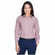Devon & Jones D645W Dress Shirts - Ladies' Crown Woven Collection™ Banker Stripe