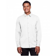 Devon & Jones DG20Z Shirts - Men's CrownLux Performance™ Plaited Button-Down Shirt