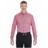 Devon & Jones DG230 Shirts - Men's Central Cotton Blend Mélange Button-Down