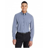 Devon & Jones DG535 Shirts - CrownLux Performance™ Men's Tonal Mini Check Shirt