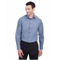 Devon & Jones DG562 Shirts - Men's Crown  Collection™ Stretch Pinpoint Chambray Shirt