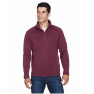 Devon & Jones DG792 Sweaters - Adult Bristol Sweater Fleece Quarter-Zip