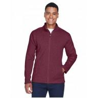 Devon & Jones DG793 Jackets  - Men's Bristol Full-Zip Sweater Fleece Jacket