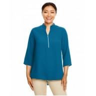 Devon & Jones DP611W Crepe Tunics - Ladies' Perfect Fit™  3/4-Sleeve Crepe Tunic