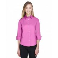 Devon & Jones DP625W Blouses - Ladies' Perfect Fit™ 3/4-Sleeve Stretch Poplin Blouse