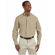 Harriton M510T Shirts - Men's Tall 3.1 oz. Essential Poplin