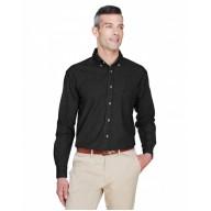 Harriton M550T Shirts - Men's Tall 6.5 oz. Long-Sleeve Denim Shirt