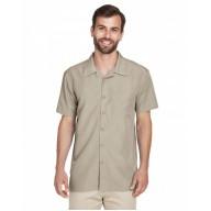 Harriton M560 Shirts - Men's Barbados Textured CampShirt