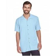Harriton M570 Shirts - Men's Bahama Cord Camp Shirt