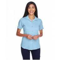 Harriton M570W Shirts - Ladies' Bahama Cord CampShirt