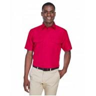 Harriton M580 Shirts - Men's Key West Short-Sleeve Performance Staff Shirt