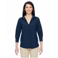 Harriton M610W Shirts - Ladies' Paradise 3/4-Sleeve Performance Shirt