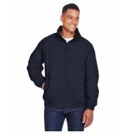 Harriton M740 Jackets - Adult Fleece-Lined Nylon Jacket