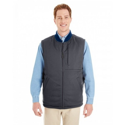 Harriton M776 Vests - Adult Dockside Interactive Reversible Freezer Vest