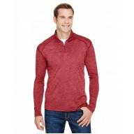 A4 N4010 Sweatshirts - Men's Tonal Space-Dye Quarter-Zip