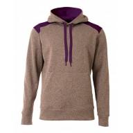 A4 N4093 Fleece Sweatshirts - Men's Tourney Color Block Tech Fleece Hooded Sweatshirt