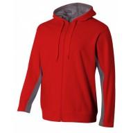 A4 N4251 Fleece Sweatshirts - Adult Tech Fleece Full Zip Hooded Sweatshirt