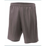 A4 N5296 Shorts - Adult Nine Inch Inseam Mesh Short