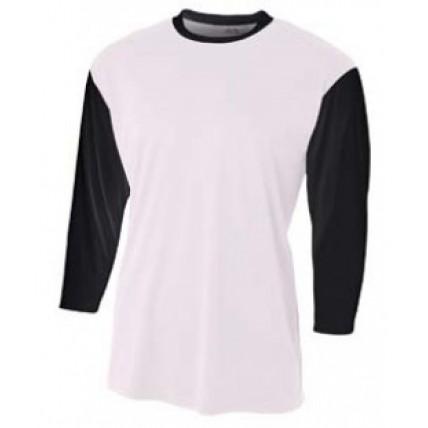A4 NB3294 Woven Shirts - Youth 3/4 Sleeve Utility Shirt