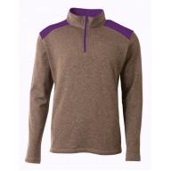 A4 NB4094 Fleece Sweatshirts - Youth Tourney Fleece Quarter-Zip