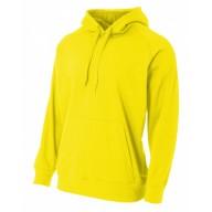 A4 NB4237 Fleece Sweatshirts - Youth Solid Tech Fleece Pullover Hoodie