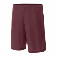 A4 NB5184 Shorts - Youth Lined Micro Mesh Short