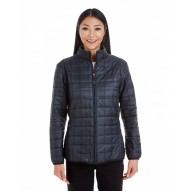 North End NE701W Jackets  - Ladies' Portal Interactive Printed Packable Puffer Jacket