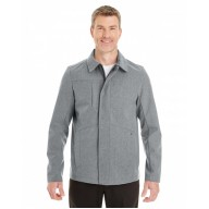North End NE705 Jackets - Men's Edge Soft Shell Jacket with Fold-Down Collar