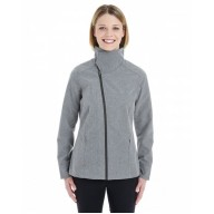 North End NE705W Jackets  - Ladies' Edge Soft Shell Jacket with Convertible Collar