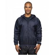 Rawlings Drop Ship RP9728 Jackets - Adult Nylon Taffeta Hooded Coaches Jacket
