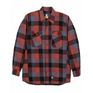Berne SH69 Jackets - Men's Timber Flannel Shirt Jacket