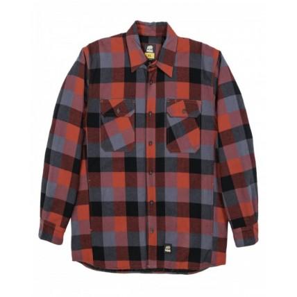 Berne SH69 Jackets - Men's Timber Flannel Shirt Jacket