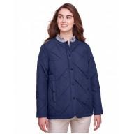UltraClub UC708W Jackets - Ladies' Dawson Quilted Hacking Jacket