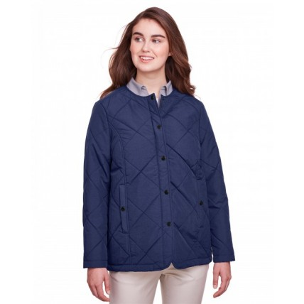 UltraClub UC708W Jackets - Ladies' Dawson Quilted Hacking Jacket