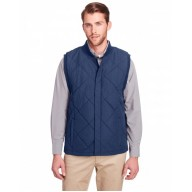 UltraClub UC709 Vests - Men's Dawson Quilted Hacking Vest
