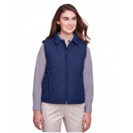 UltraClub UC709W Vests - Ladies' Dawson Quilted Hacking Vest