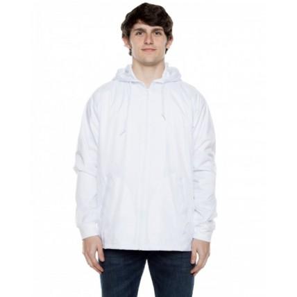 Beimar Drop Ship WB103RB Jackets - Unisex Nylon Full Zip Hooded Jacket